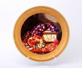 "тарелка настенная 33 см ""фрукты /1426"" / 002170"