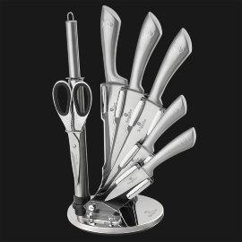 """набор ножей для кухни 8 предметов на подставке """"infinity line"""" / 129269"""