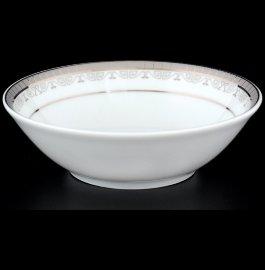 """набор салатников 13 см 6 шт """"опал /платиновая лента"""" / 056524"""