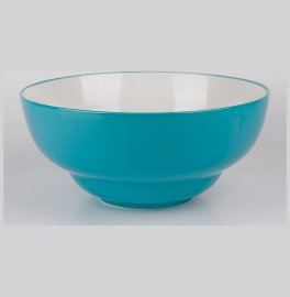 """салатник 28 см голубой, белый внутри """"вехтерсбах"""" / 034606"""