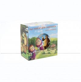"""детский набор 3 предмета """"маша и медведь"""" / 140433"""