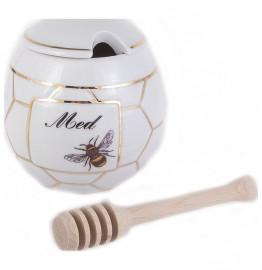 """кружка для мёда 400 мл """"дуби /пчелка"""" / 140976"""