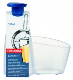 "дозатор для моющих средств 350 мл  с подставкой для губки ""tescoma /clean kit"" / 141453"