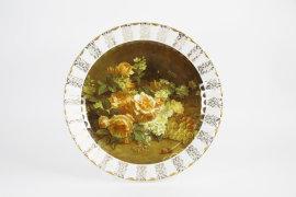 """настенная тарелка 32 см """"цветы 11"""" / 080150"""