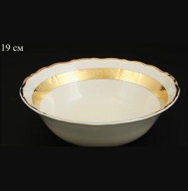 """набор салатников 19 см 6 шт """"мария-луиза /золотая лента /ск"""" / 107921"""