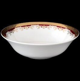 "салатник 25 см ""кристина /лилии на красном"" / 056196"