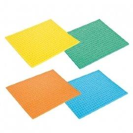 "губковые тряпки 18 x 15 cм 4 шт ""tescoma /clean kit"" / 141422"