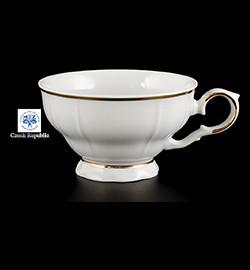 """чашка 155 мл 1шт """"офелия /золотая отводка"""" / 092006"""