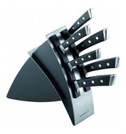 "набор кухонных ножей 6 предметов на подставке 36 х 28 см ""tescoma /azza"" / 141353"