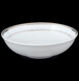 """набор салатников 19 см 6 шт """"опал /платиновая лента"""" / 056526"""