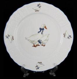 """набор тарелок 21 см 6 шт """"бернадотт /гуси"""" е-м / 088768"""