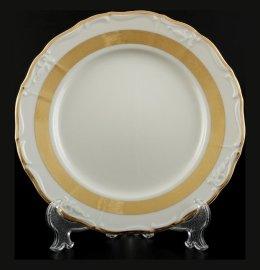 "набор тарелок 25 см 6 шт ""мария-луиза /золотая лента /ск"" / 094572"