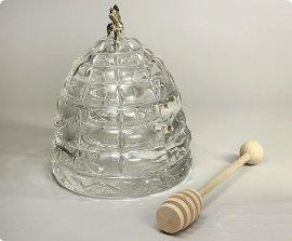 """емкость для мёда 11,8 см """"улей с пчелкой"""" объём - 300 мл / 104398"""