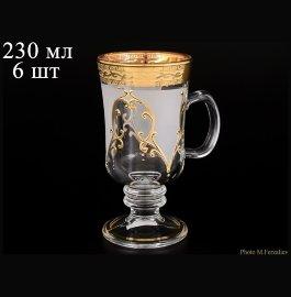 """кружки для горячих напитков 230 мл 6 шт н/н """"антик золото"""" u-r / 059870"""
