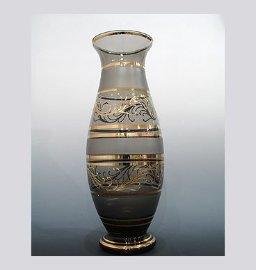 """ваза для цветов 52 см """"дымчатая"""" / 008296"""
