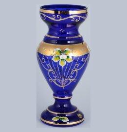 """ваза для цветов 25 см """"лепка синяя"""" / 099223"""