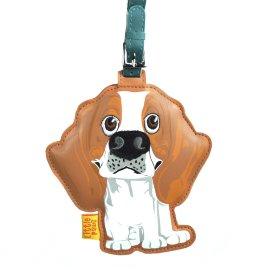 """кожаный брелок на сумку """"beagle"""" / 143999"""