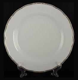 """набор тарелок 21 см 6 шт """"офелия /золотая отводка"""" / 027470"""