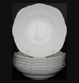 """набор салатников 19 см 6 шт """"бернадотт /платиновый узор"""" / 006106"""
