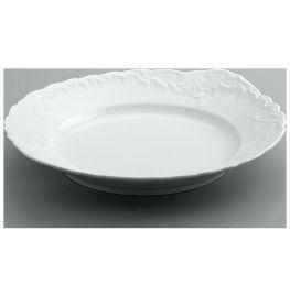 "пирожковая тарелка 29 см ""рококо /без декора"" / 111613"