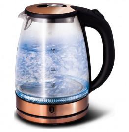 "чайник электрический 1,7 л  2200w ""burgundy metallic line"" / 136524"