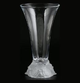 """ваза для цветов 35 см """"фрост /белая"""" / 006760"""