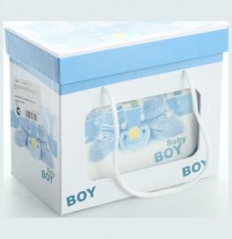 """детский набор 3 предмета """"baby boy"""" / 140008"""