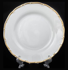 """набор тарелок 19 см 6 шт """"офелия /золотая отводка"""" / 013603"""