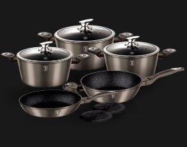 """набор посуды 10 предметов """"carbon metallic line"""" / 106908"""