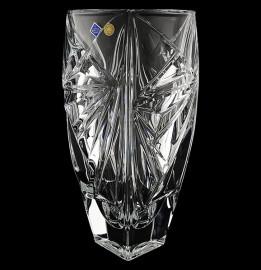 """ваза для цветов 30 см """"princess /без декора"""" хрусталь йиглава / 131187"""