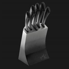 """набор кухонных ножей 6 предметов на подставке """"limited edition"""" / 135755"""