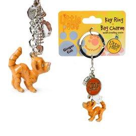 """брелок для ключей """"ginger cat"""" / 143993"""