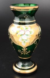 """ваза для цветов 30 см """"лепка зеленая"""" / 038784"""