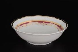 """набор салатников 16 см 6 шт """"мария-луиза /лилии на красном"""" / 064133"""