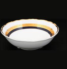 "набор салатников 13 см 6 шт ""мария-луиза /синяя лента с золотом"" / 113302"