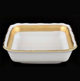 """салатник 16 см квадратный """"мария-луиза /матовая лента"""" / 055005"""