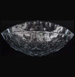 """ваза для фруктов 40 см """"медовые соты /без декора"""" / 040053"""