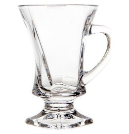 "кружки для горячих напитков 100 мл 6 шт н/н ""квадро /без декора"" / 116840"