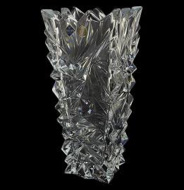 """ваза для цветов 30,5 см """"glacier /без декора"""" хрусталь йиглава / 019161"""