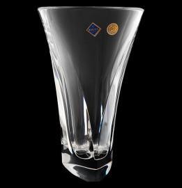 """ваза для цветов 30 см """"triangle /без декора"""" хрусталь йиглава / 019167"""