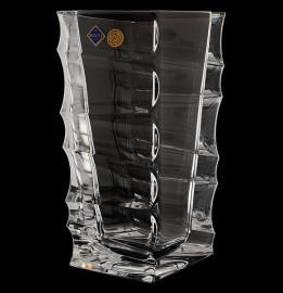 """ваза для цветов 30 см """"sail /без декора"""" хрусталь йиглава / 019165"""