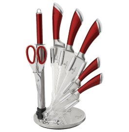 """набор ножей для кухни 8 предметов на подставке """"perfect kitchen line"""" / 136528"""