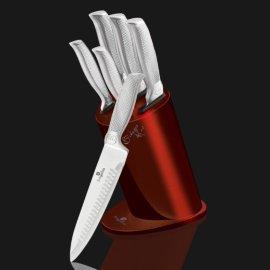 """набор кухонных ножей 6 предметов на подставке """"kikoza collection"""" / 119725"""
