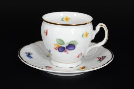 "чашка чайная 240 мл бочка н/н ""бернадотт /сливы"" (без блюдца) / 125854"